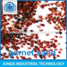 Low dust CaO 9% garnet abrasive 30/60 for surface sand removal