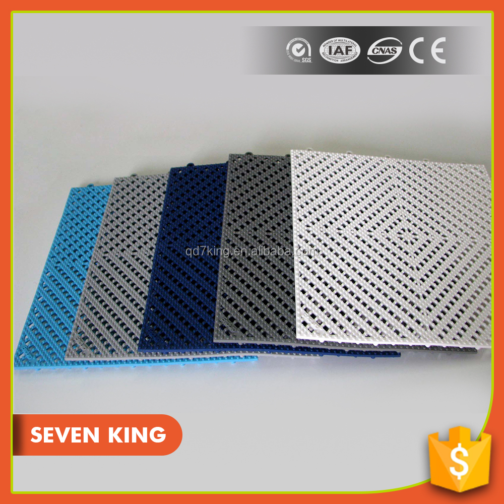 QINGDAO 7KING 2016 cheap waterproof plank anti slip extra large bath PVC Flooring covering/mat/tile for swimming pool