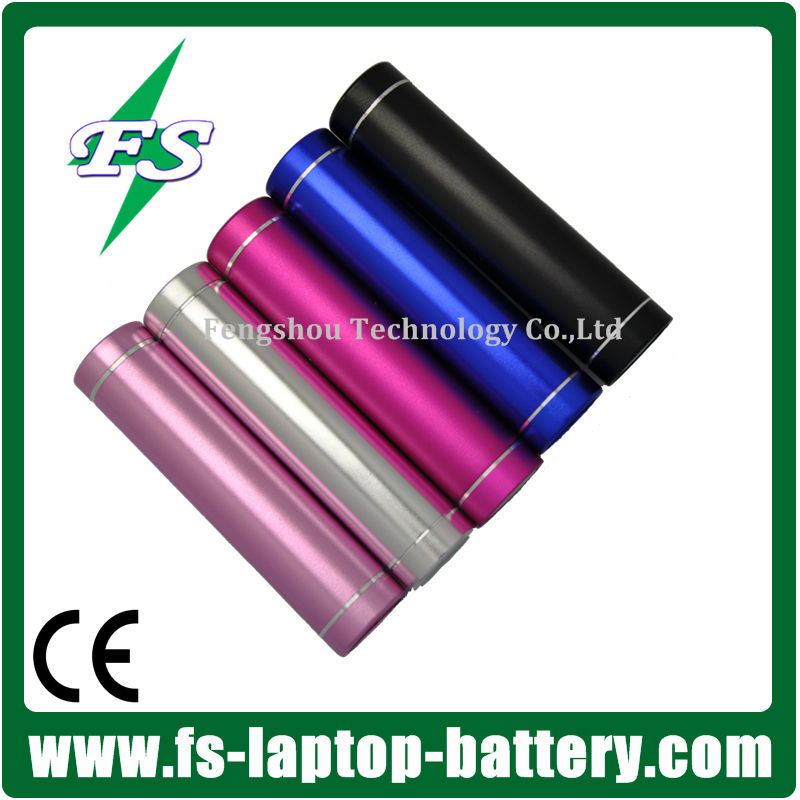 2600MaH Mini power bank as gift for Samsung ipad,ipod,nokia, iPhone 5s/5c/5/4s/4,Mp3,Mp4 smartphone mobile Power Bank