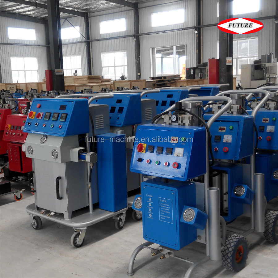 Small polyurethane foam injection insulation machine