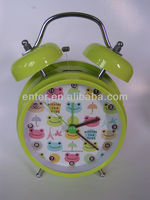 High quality sell twin bell alam clock