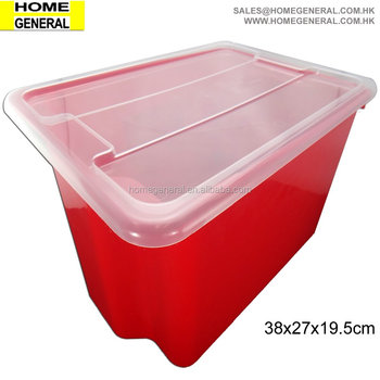PLASTIC STACKABLE BUCKET, STACKABLE CRATE, STACKABLE TUB