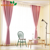 100% Polyester Jacquard Window Curtain Design Blackout Window Curtain Models For Sale