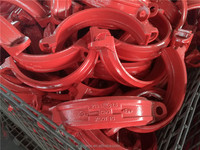 FM /UL Approved ductile cast iron grooved pipe fittings and Coupling