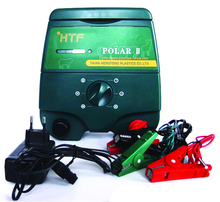 solar / battery operated electric fence charger for large pastures