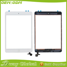 Black Screen Sensor For iPad Mini 1 a1432 Touch Screen Digitizer Assembly With Home Button Flex Cable