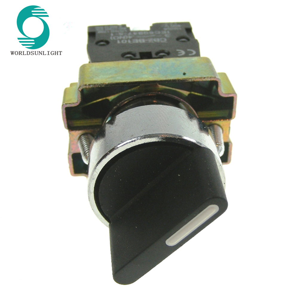 Wholesale Xb2 Selector Switches Online Buy Best Latching Push Button Switch Lighted Strongxb2 Strong Bd41 22mm 2 Position 1 Spring Return