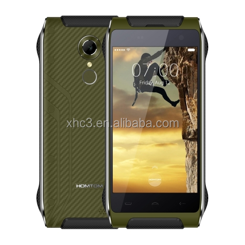Dropshipping IP68 Waterproof 4.7 inch Android 6.0 MT6737 Quad-Core mobile phone HOMTOM HT20 16GB 4G phone