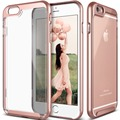 Anti-shock Clear Back PC Hard Color bumper case for apple iphone7, for iphone 7 mobile phone cases