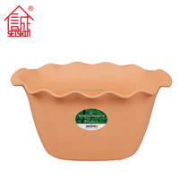 Top Quality Contemporary Decoration Plastic Flower Pot