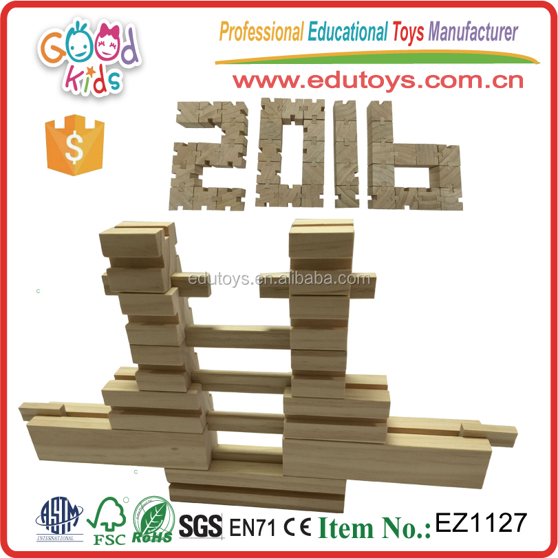 Newest Design Wooden Game Children Formative Educational Learning Toys Kids Building Blocks