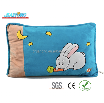 popular gift hot sale 2014 blue cove rabbit speaker pillow for iPhone