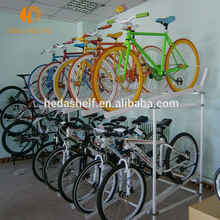 Affordable Price China Manufacturer bike display rack,2 tiers bike storage bike