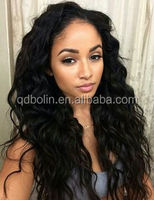 AAAAAA Grade High Quality 100% human hair full ends african american lace wig