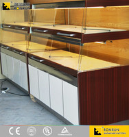Bakery case display/cake display cabinet/vertical Cake Display Showcase
