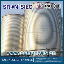silo system for cyclone cement plant