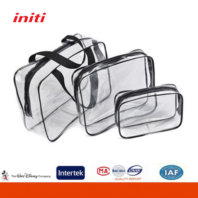 OEM Factory Sale New Design Customized Clear Pvc Cosmetic Bag