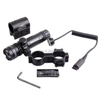 650nm Wavelength Laser Rifle Scope, adjustment hunting riflescope, red and green laser sight