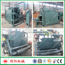 continuous wood sawdust rice husk carbonization kiln