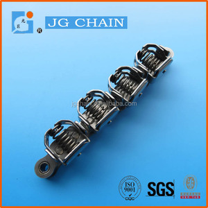 High quality stainless steel special clip paper attachments roller converyor chain