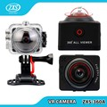 new arrival dual lens 360 degree action camera