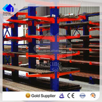 2016 china factory industrial steel pipe cantilever rack