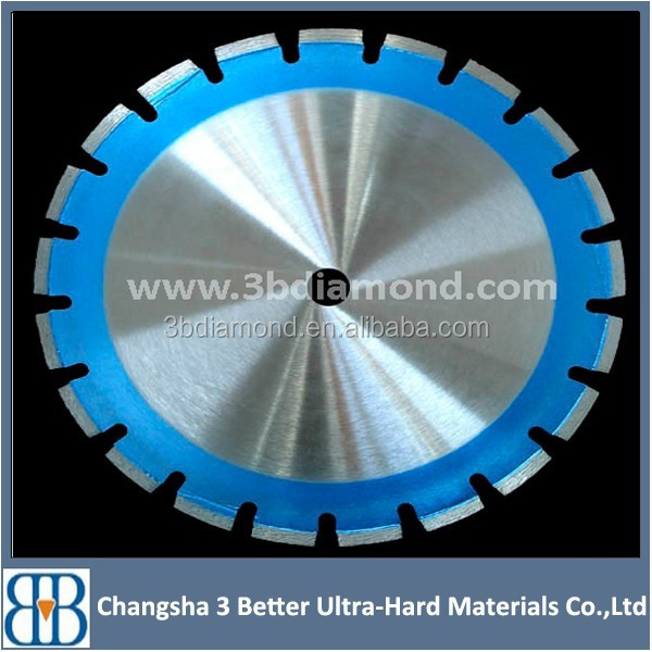 Different size high quality diamond segment concrete saw blade