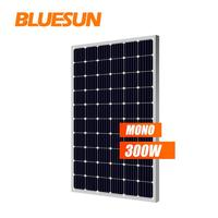 Chinese Top Brand Bluesun's mono solar panel 36v 300w use for home solar system