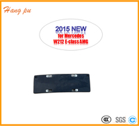 car accessories whwolesale front bumper plastic car numer license plate frame for E Class W212 AMG A2128852881