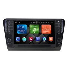 Intel Sofia Quad Cord Android 6.0.1 9 inch Car Radio GPS Player Stereo No DVD Function 2 Din for Skoda Octavia 2016