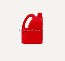 4 Liter engine oil plastic bottle lubricating oil bottle