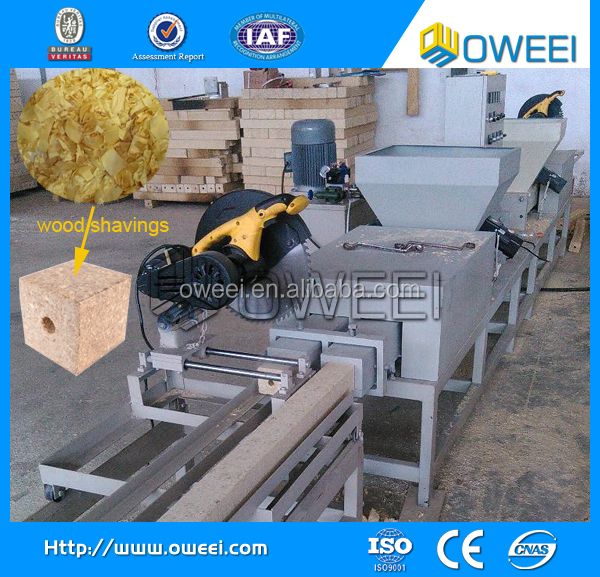 2015 best selling wood shaving processing machine to make wood pallets
