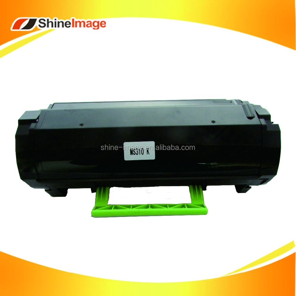 compatible black toner for Lexmark MX310 MX410 MX510 MX610
