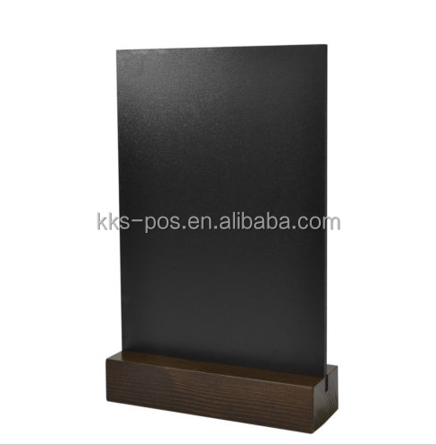A4 A5 Wooden Chalkboard with Stand