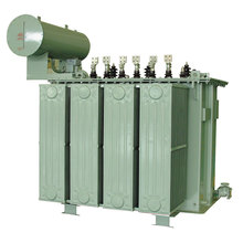 China Three Phase Oil Immersed Step Down 500KVA Transformer High Voltage 10KV