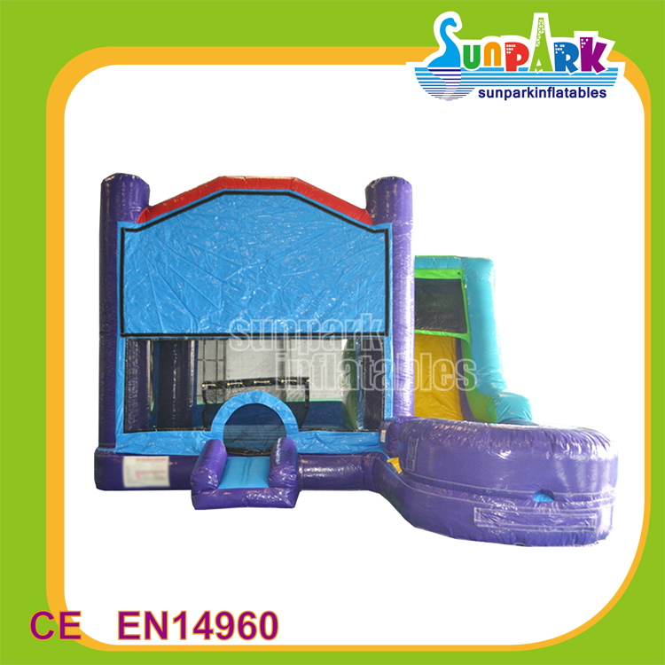 China Kids Slide Inflatable Jumping Toys , Wholesale Inflatable Bouncer Combo for Sale