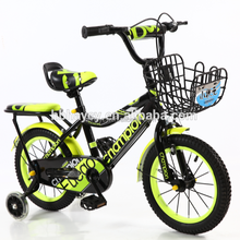 Manufacture 16 inch children bicycle with four wheels high quality hot sale kids bicycle