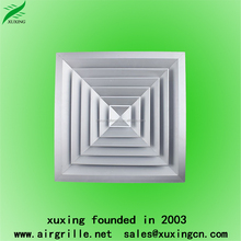 High quality hvac ceiling square diffuser supply air registers