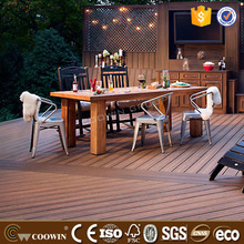 Laminate flooring 134*24mm weather resistance wood plastic composite WPC decking board