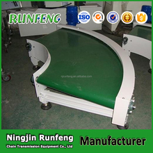 Manufacturer 90 Degree Curved Sidewall Pvc Conveyor Belt