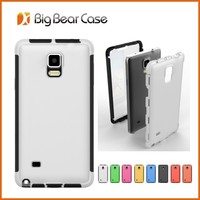 fashion and simply style waterproof case for samsung galaxy note 4