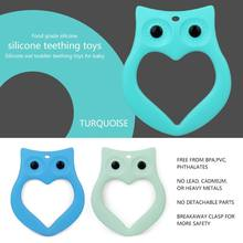 ICTI certificated custom funny silicone baby teether for baby toy