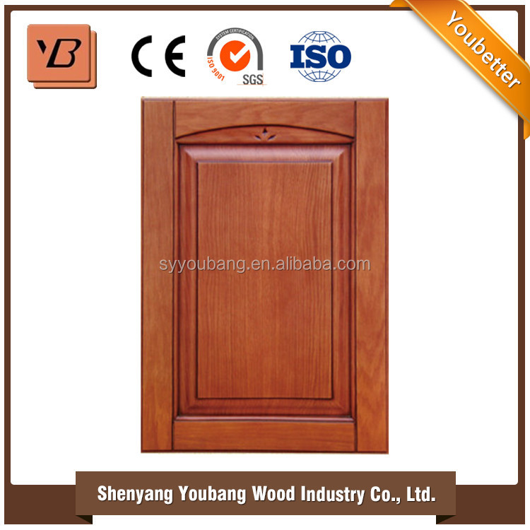 Solid wood cabinet door kitchen cabinets kits buy solid for Kitchen cabinets kits