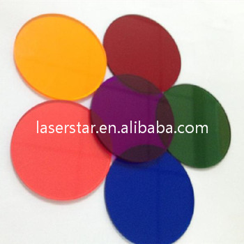 customized optical color filters