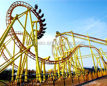 2017 most popular thrilling suspended roller coaster rides