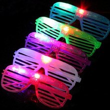 LED Flashing Shutter Glasses/LED Flashing party glasses