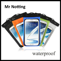 360 degree protected from water mobile phone pvc bags for apple iphone 6 5.5 inch waterproof