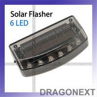 Good Quality6 pcs Powered Warning Flash Security Vibration Sensor For Car Vehicle LED Solar Light Lamp