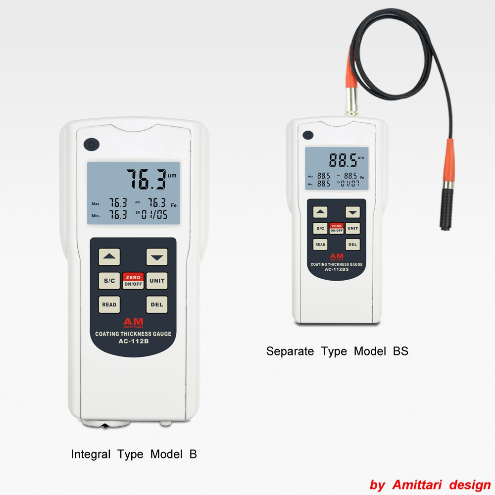 Memory Anodizing thickness meter FN Coating measuring gauge