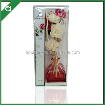 Wholesale Popular Yurt Shape Sola Flower and Rattan Reeds Fragrance Diffuser